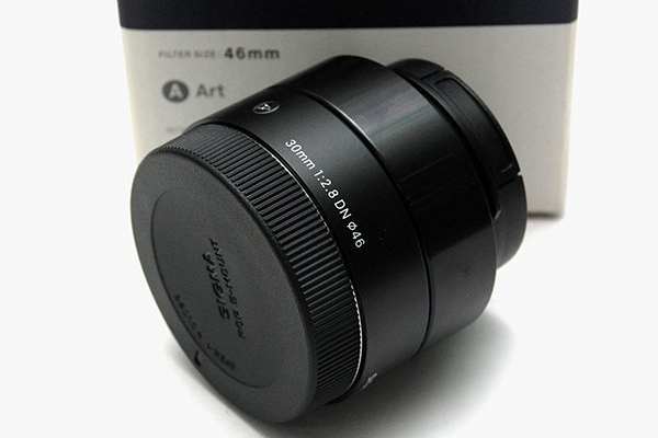 Sigma 30mm F2.8 DN Art 013 for Sony